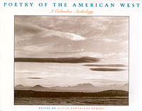 Poetry of the American West, edited by Alison Hawthorne Deming