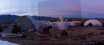 Biosphere 2 panorama