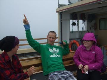 Lawron, Mackenzie and Harley heading to Kent Island